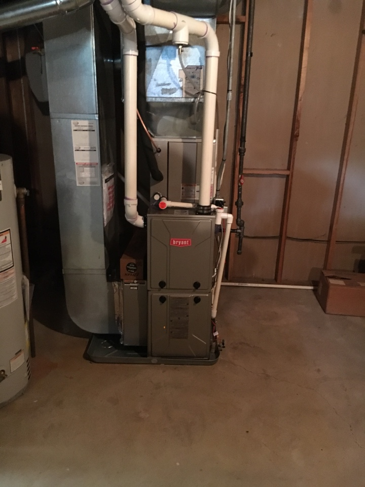 Grandville, MI - Installation of bryant heating and cooling system