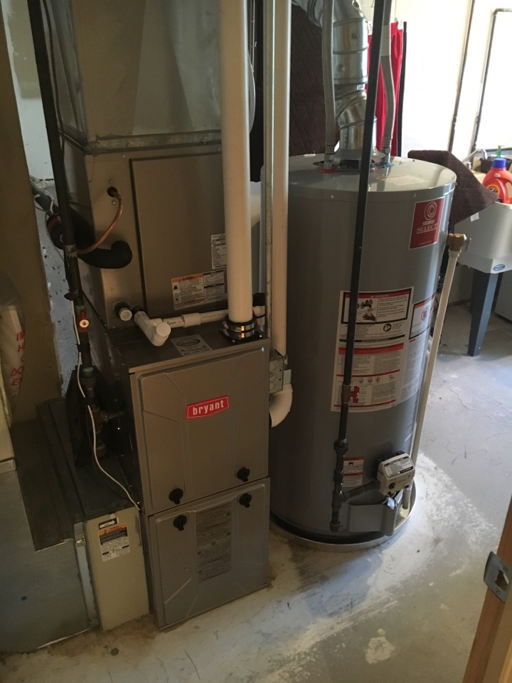 Walker, MI - Installation of Bryant furnace and air conditioner