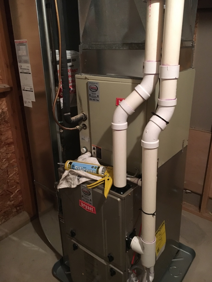 Byron Center, MI - Furnace install