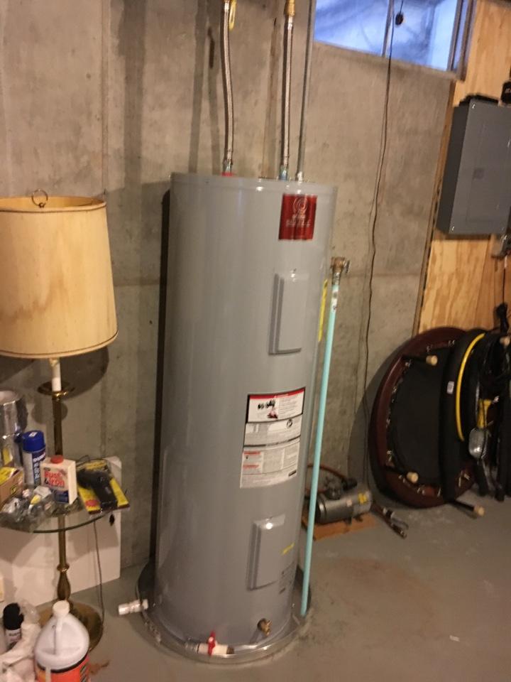 Sparta, MI - Installation of State water heater