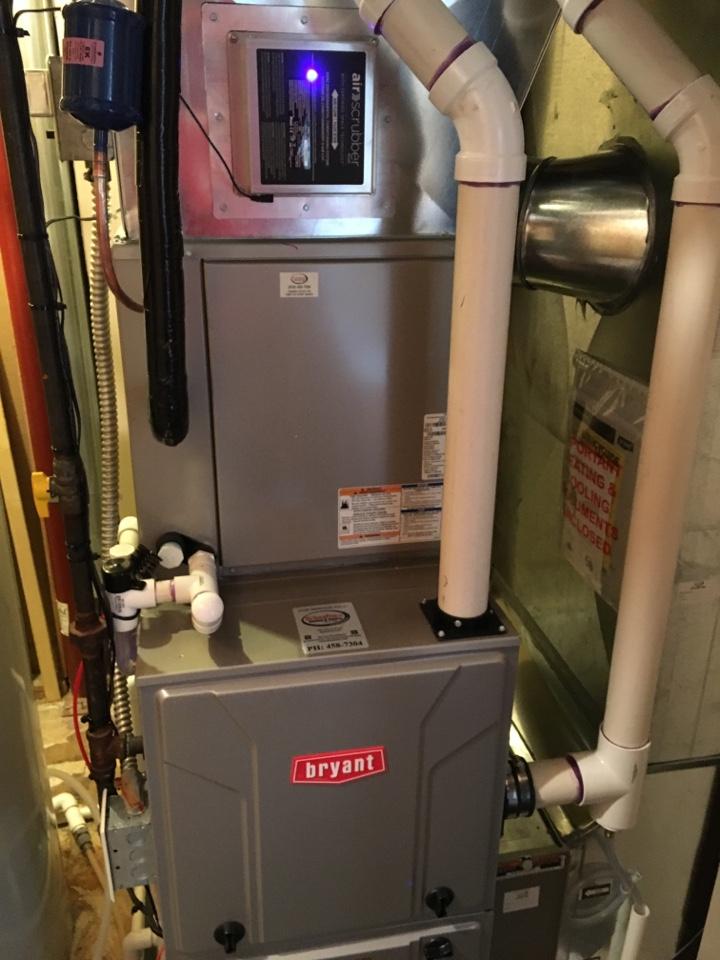 Rockford, MI - New furnace plus AC evolution plus air scrubber plus humidifier