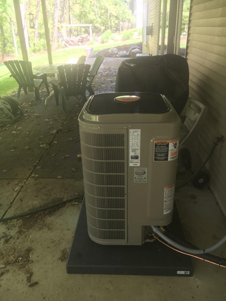 Rockford, MI - Installation of Bryant Air Conditioner