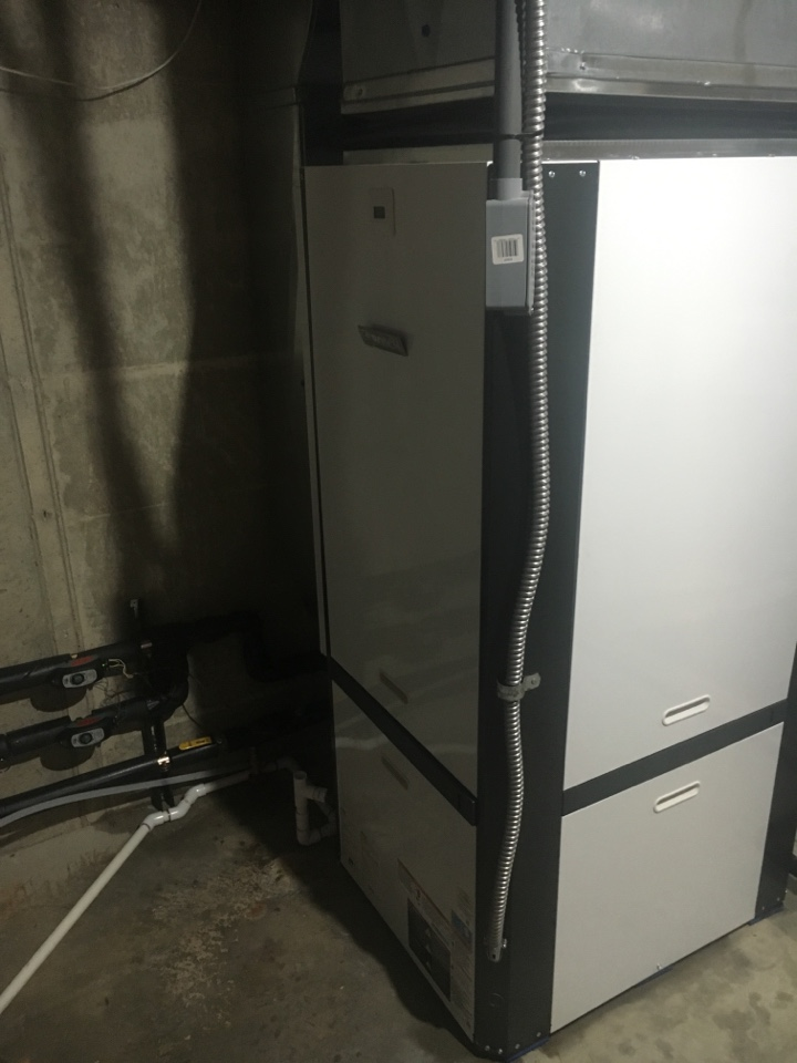 Belding, MI - geothermal installation call. Performed install of geothermal unit