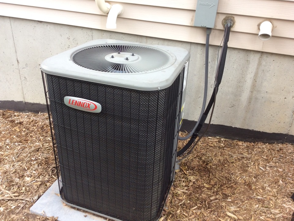 Georgetown Township, MI - ac service call. performed repair on lennox unit
