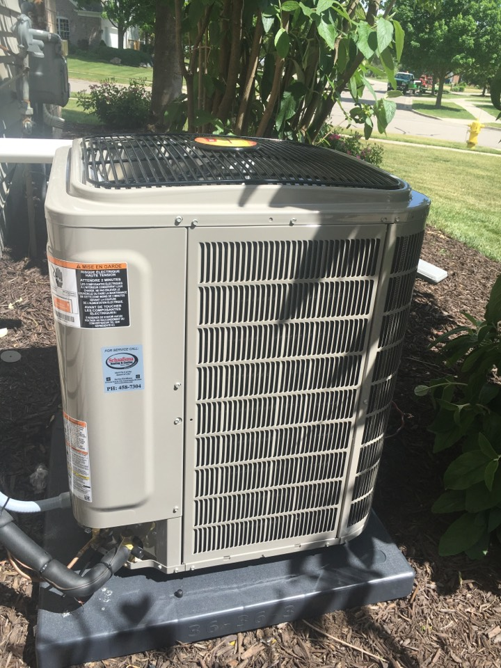 Ada, MI - air conditioner installation call. Performed ac install on bryant unit