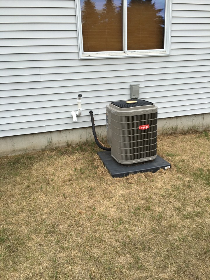 Sparta, MI - ac and furnace service call, performed ac and furnace intstall on bryant unit