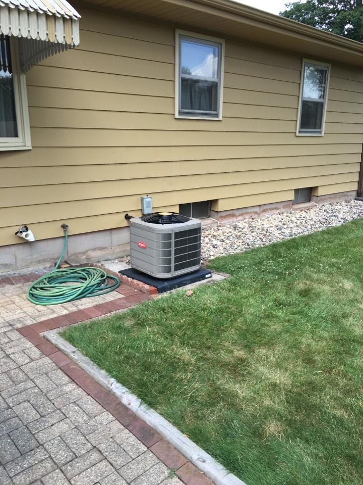 Grand Rapids, MI - New AC install