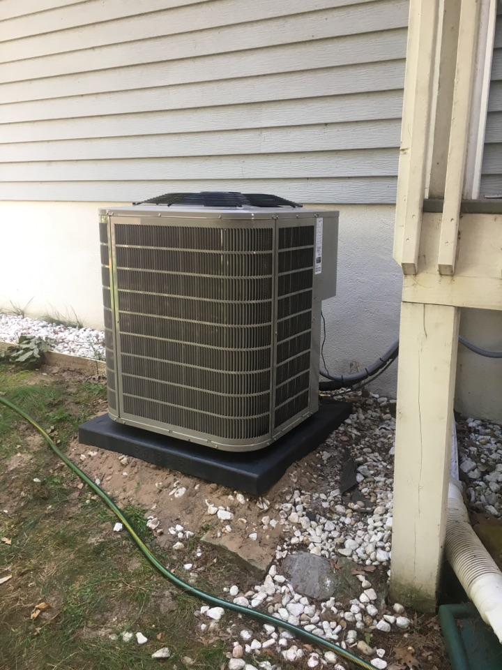 Pierson, MI - ac installation call. performed ac install on bryant unit