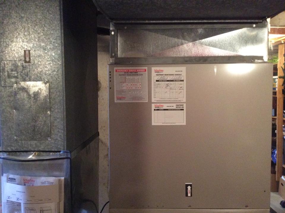 Coopersville, MI - Bryant furnace tune up.