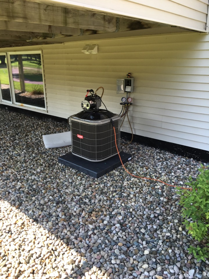 Hudsonville, MI - ac installation call. performed ac install on bryant unit