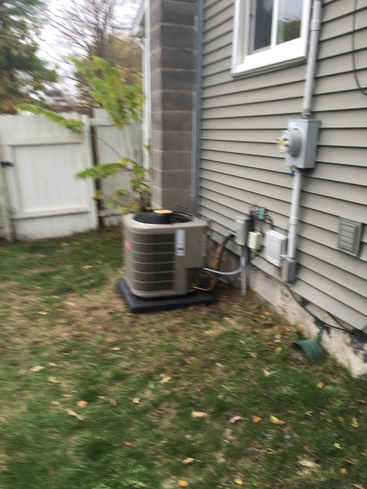Middleville, MI - New furnace plus AC plus humidifier