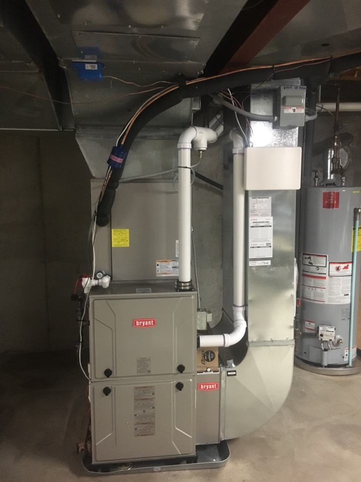 Grand Rapids, MI - Bryant furnace and air conditioning installation