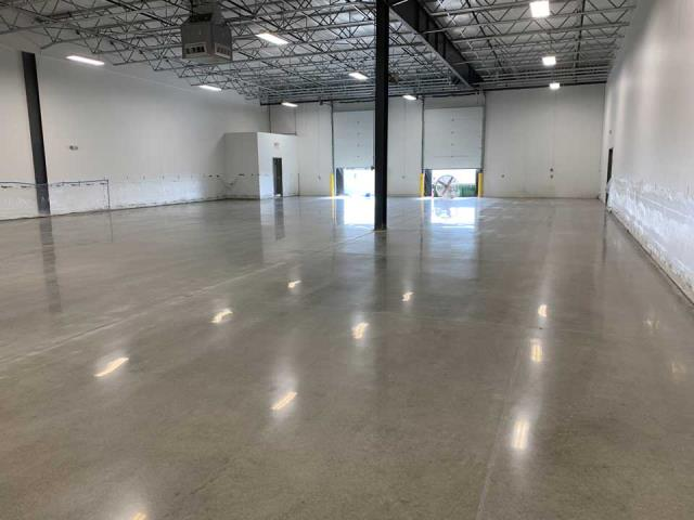 Berea, OH - Save time and money while reducing labor costs when your use Scientific Concrete Polishing! Great for large areas that require low maintenance and easy cleaning!