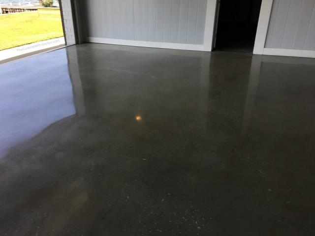 We had the concrete floor in our barn refurbished with the Scientific Concrete Polishing system last year! We typically rent out our barn for wedding venues, and the floor tends to be very dirty at the end of the night, with a few scratches here and there. This flooring system has made cleaning up a lot faster and easier! We have saved quite a bit of time and money with a floor that requires low maintenance, and doesn't scratch easily! We couldn't be happier with the outcome of this floor and the benefits it has provided us!!