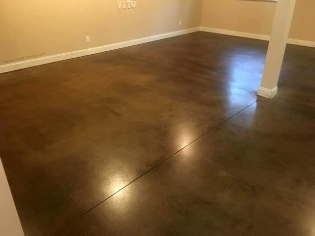 Great for stained concrete! Perfect polished concrete texture!