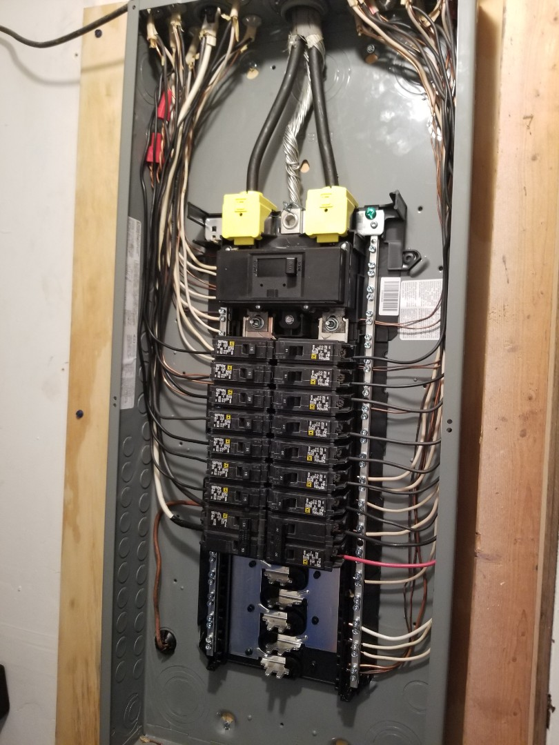 Replacing main breaker panel, fuse box upgrade made easy on Douglasville GA.