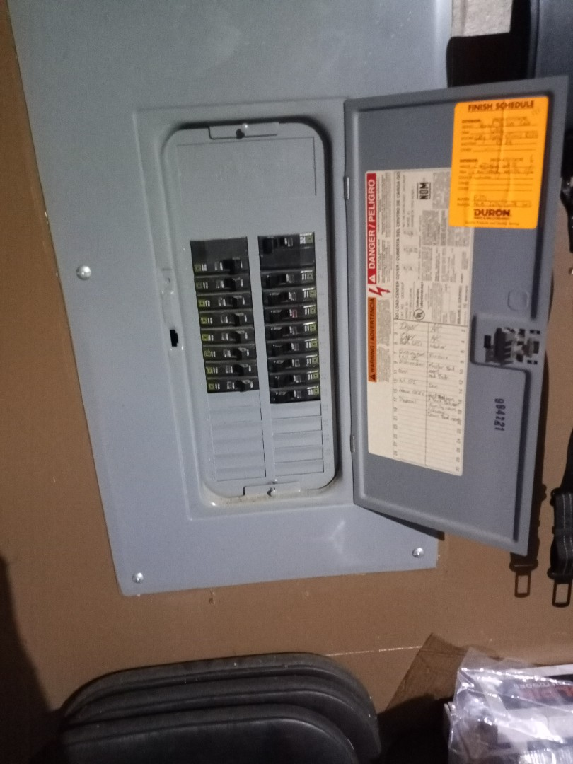 Electrician  near me in Kennesaw ga is doing a panel inspection