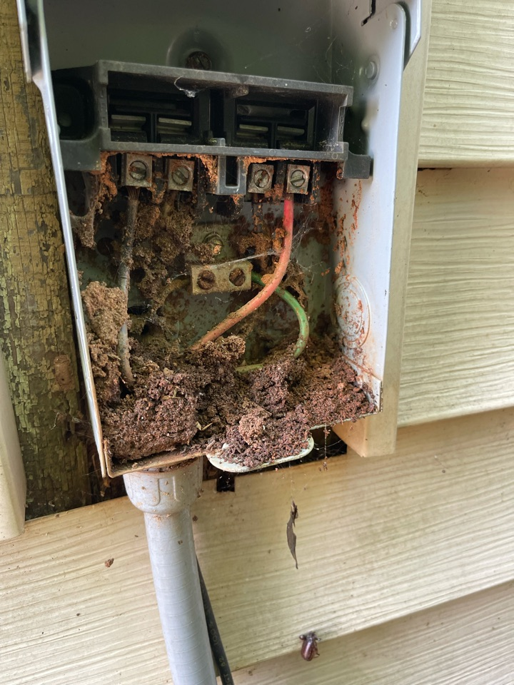 Electrician near me in Decatur ga performed an electrical inspection for power reconnect. Found and repaired multiple safety issues such as loose wires missing or broken outlet/switch covers.