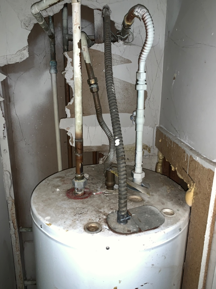 Plumber near me Decatur ga. New stops, supply lines and water heater on remodel condo