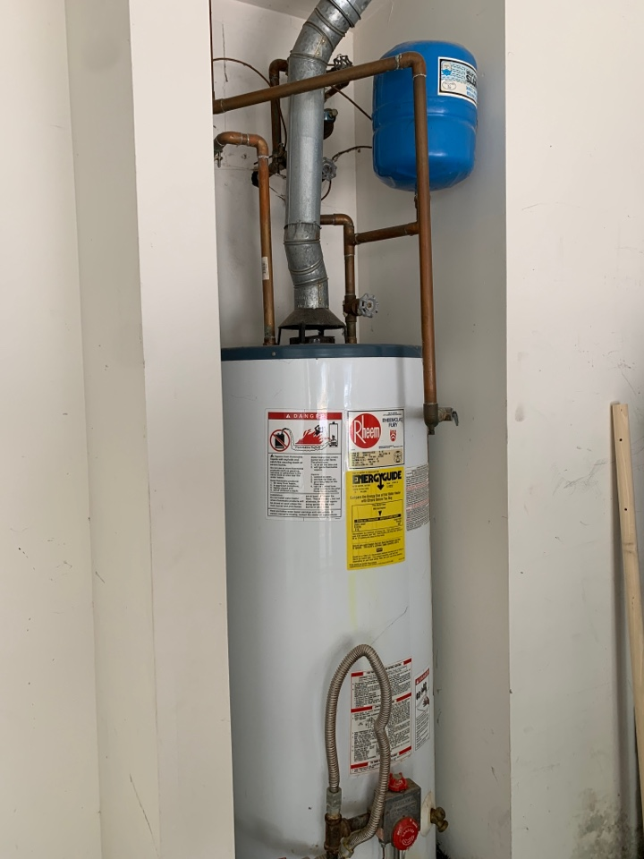 Plumber near me in Kennesaw ga. New water heater installed 50gal N/G.