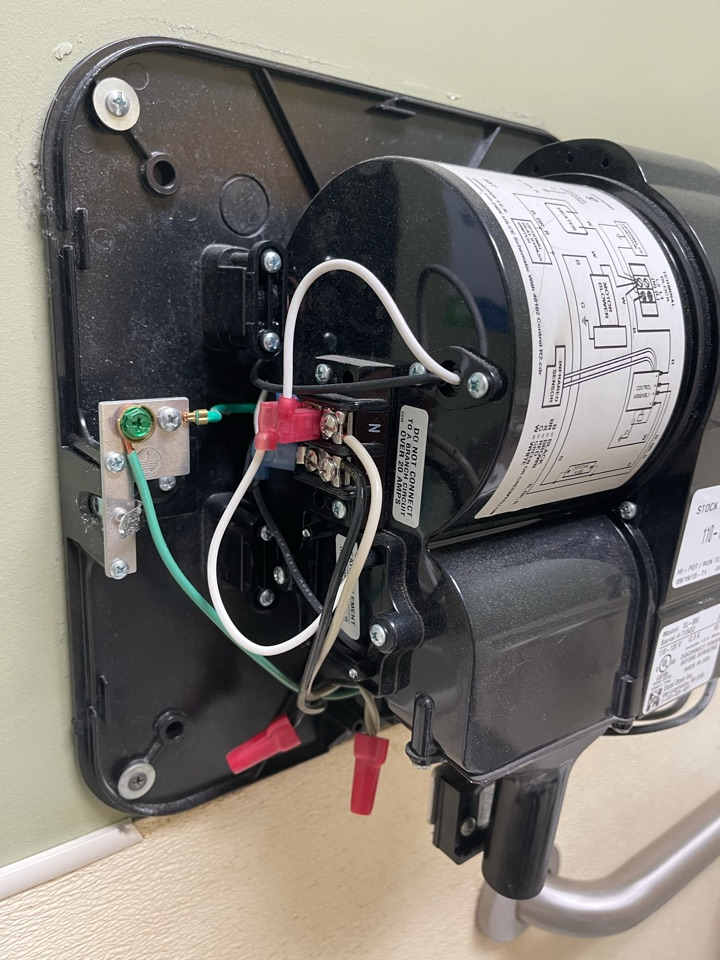 Electrician near me in cartersville ga diagnosed and repaired a commercial hand dryer.