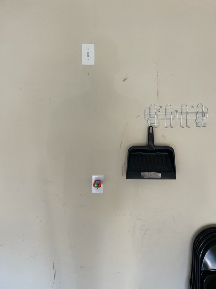 Electrician near me in cartersville ga installed a new outlet on existing circuit in garage and replaced 2 new gfcis on existing circuits.