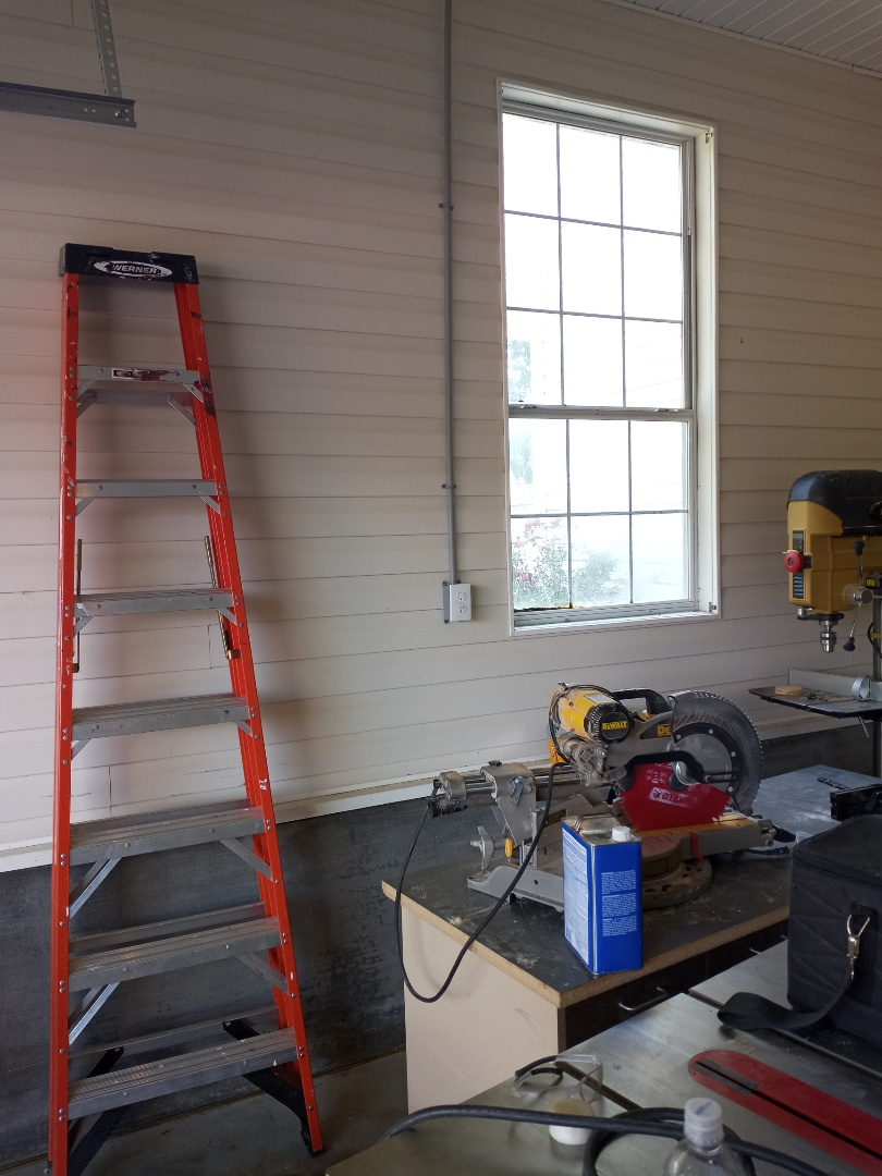 Electrician near me in Ranger Georgia installing receptacles and garage