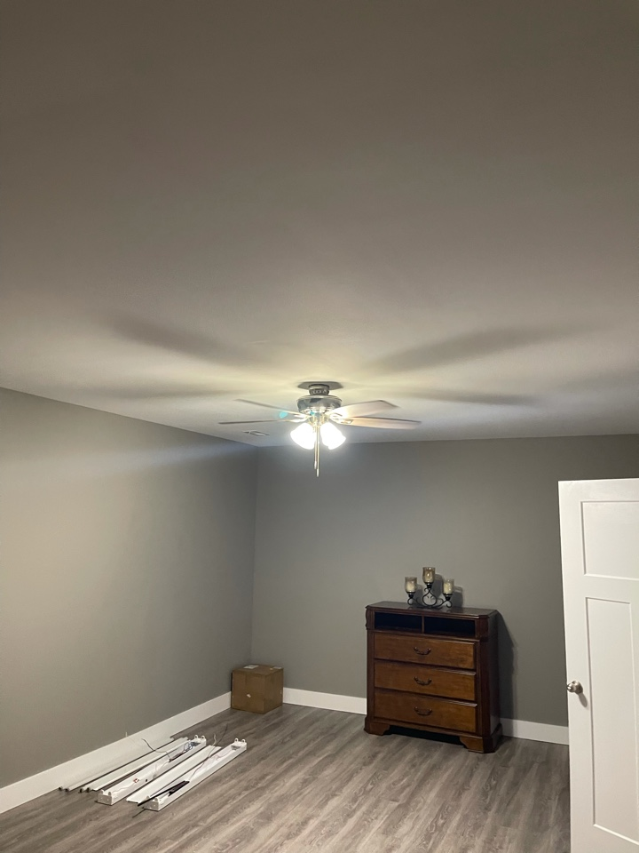 Electrician near me in rydal ga installed a new fan on existing circuit