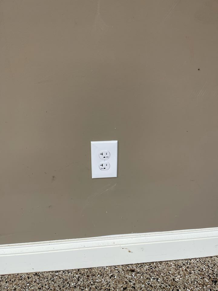 Electrician near me in cartersville ga installed a new 20 amp circuit for a sauna