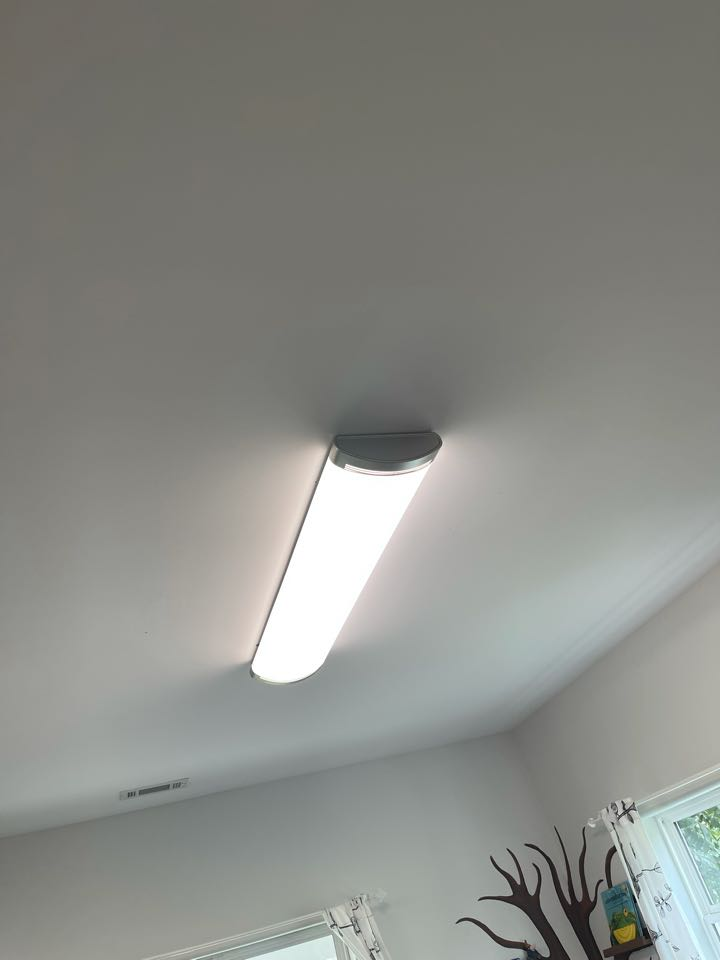 Electrician near me in adairsville ga Installed 2 new customer supplied led lights on existing circuit.