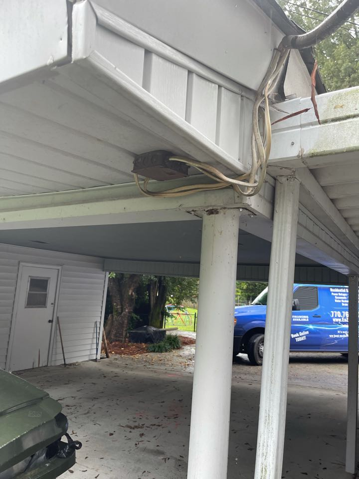 Electrician near me in dalton ga repaired multiple electrical issues through out home