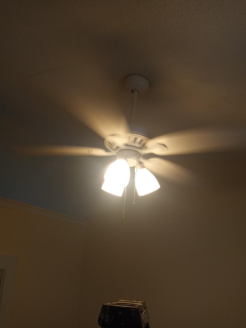 Electrician near me in Adairsville Georgia install ceiling fan