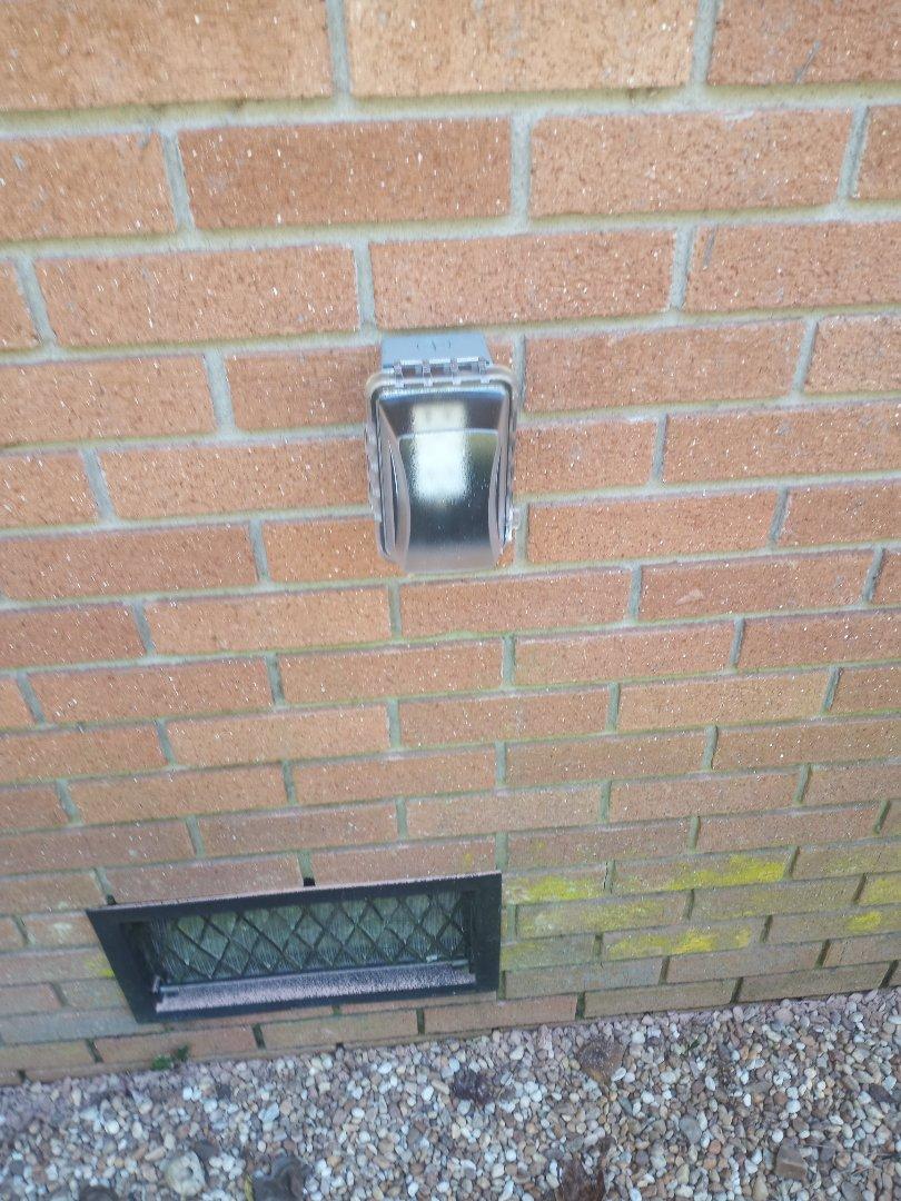 Electrician near me in Dalton Georgia installing exterior gfcis