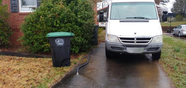 Rome, GA - Certified Plumber is pumping flood water out of the crawl space, we offer plumbing services in Rome GA.