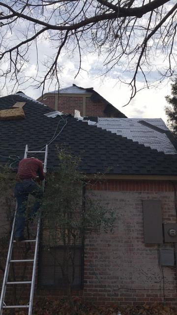 Edmond, OK - We are in the process of making this roof new again!