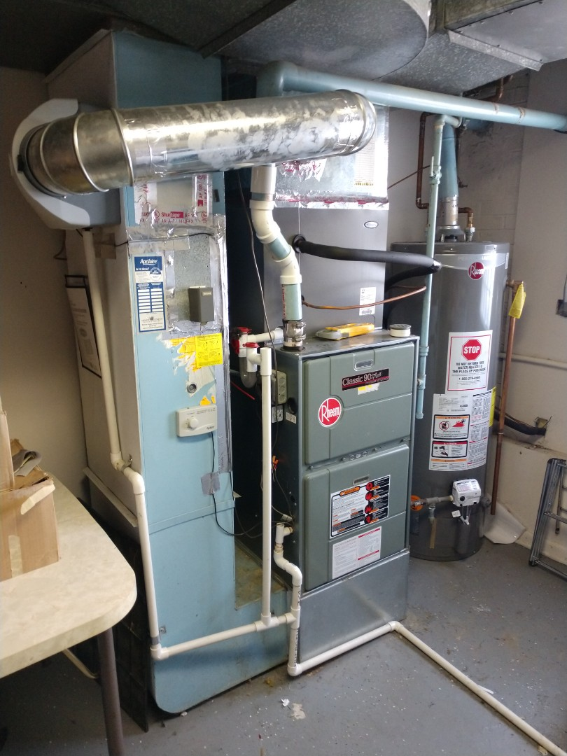 Mount Prospect, IL - Service call on a Rheem furnace