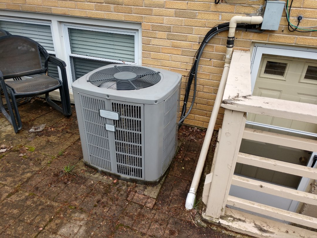 Mount Prospect, IL - We performanced AC maintenance on an American Standard condenser