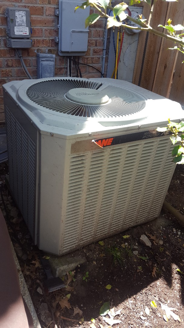 Glenview, IL - Performed A.C. maintenance on Trane air conditioner. Air Conditioning maintenance in Glenview.