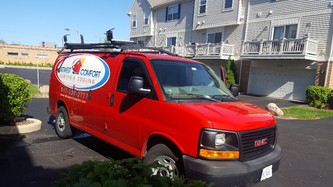 Des Plaines, IL - Performed Air Conditioning maintenance on Lennox A.C.  Air conditioner tune up in Des Plaines.
