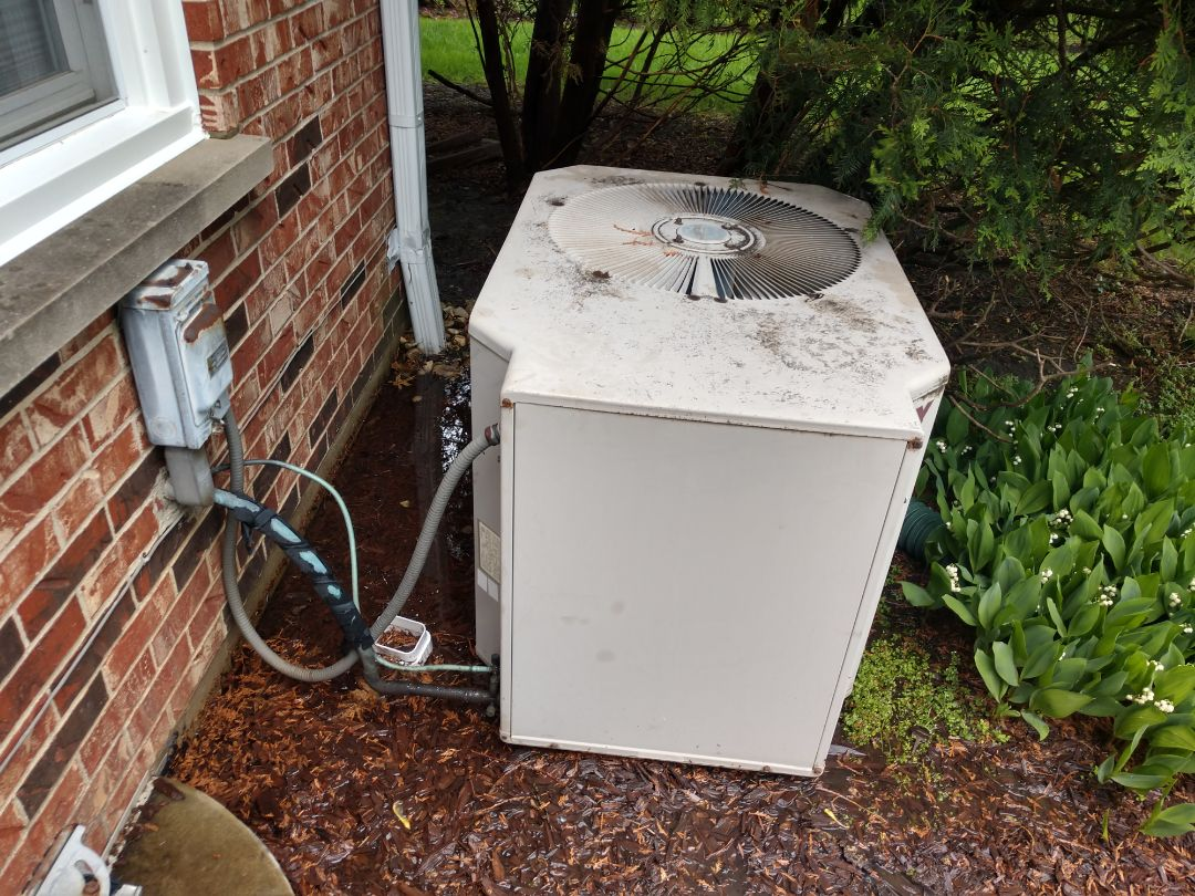 Northbrook, IL - We performed service on a York air conditioner.