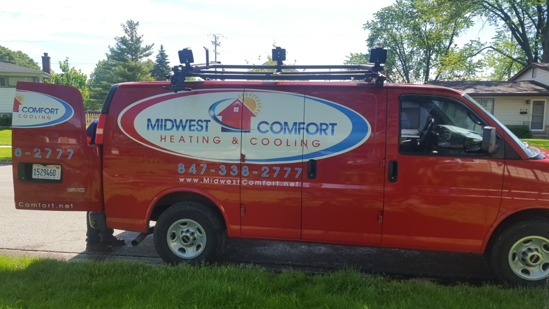 Mount Prospect, IL - Performed A.C. maintenance on Guardian air conditioner.   Air Conditioning maintenance in Mt Prospect.
