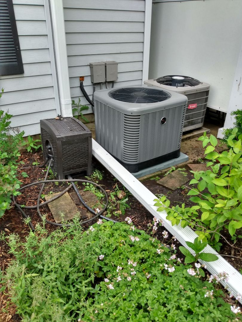 Prospect Heights, IL - Performed AC maintenance on Ruud RA13. Air conditioning tune up in Prospect Heights.