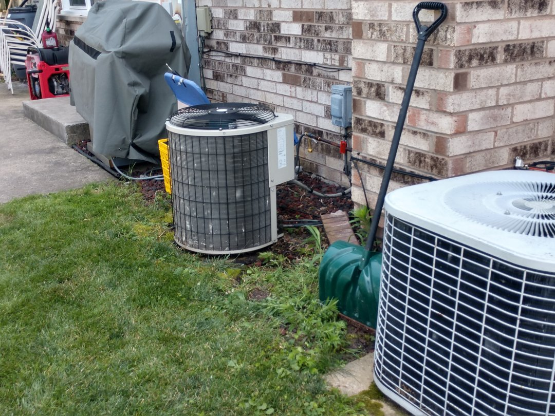 Mount Prospect, IL - Ac no cool service call. We recharged the Carrier air conditioner with r22 Freon.