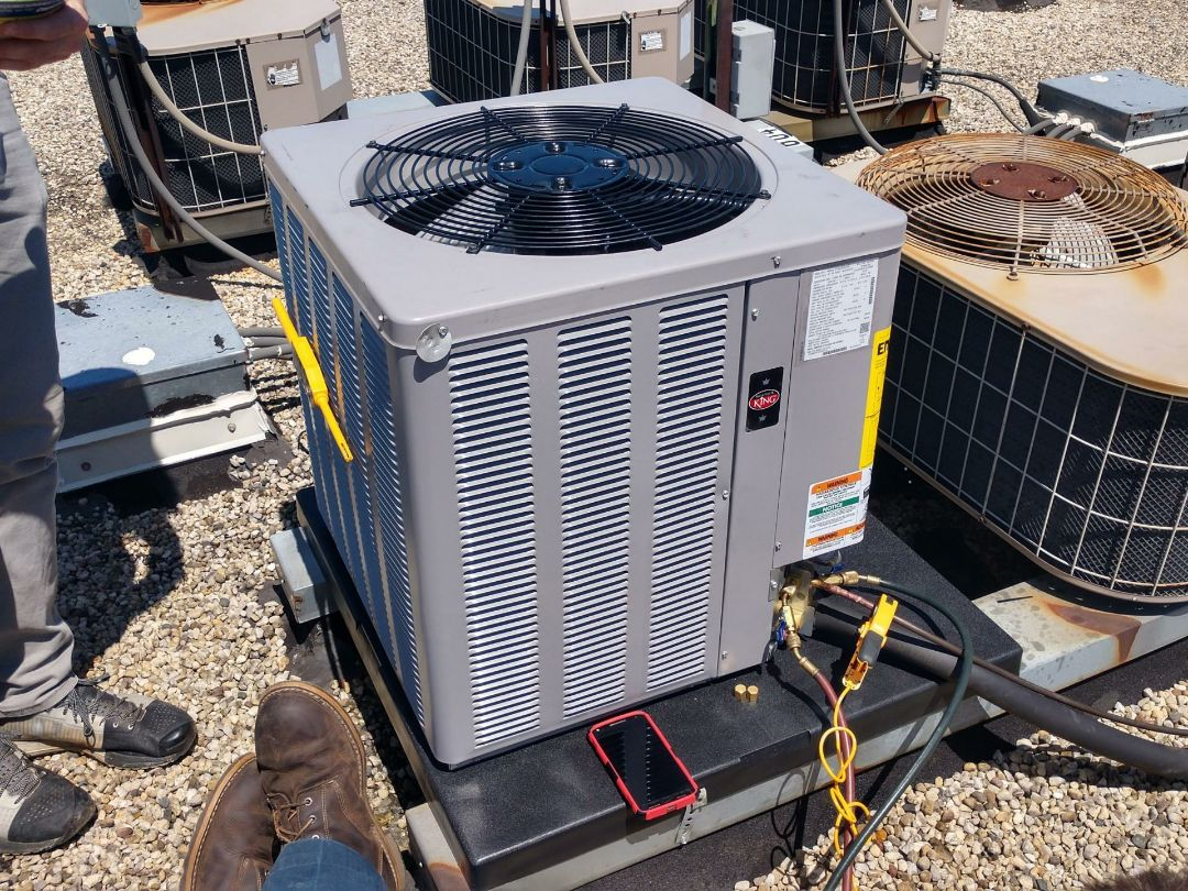 Mount Prospect, IL - New installation weather king Air conditioning