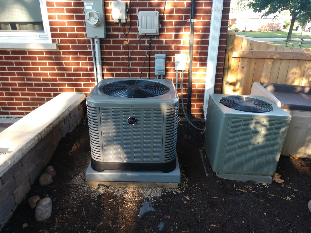 Mount Prospect, IL - We performed an installation on a Rheem/Ruud ra13 air conditioner and ADP indoor evaporator coil