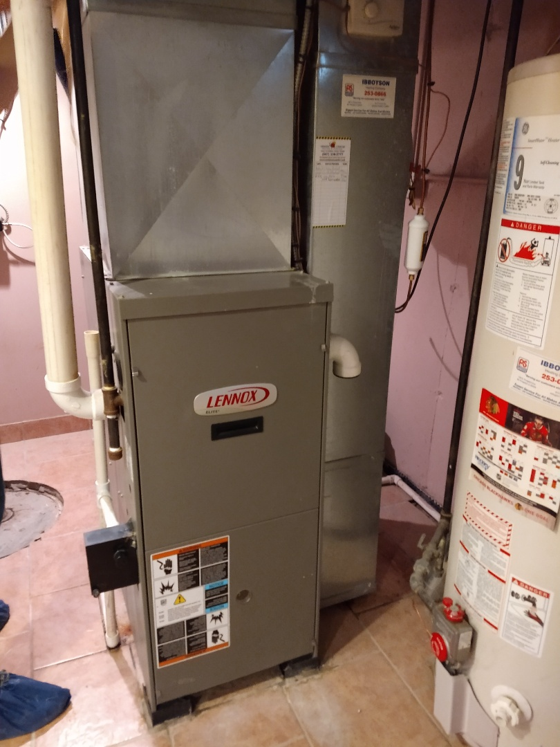 Mount Prospect, IL - Lennox furnace cleaning and safety check