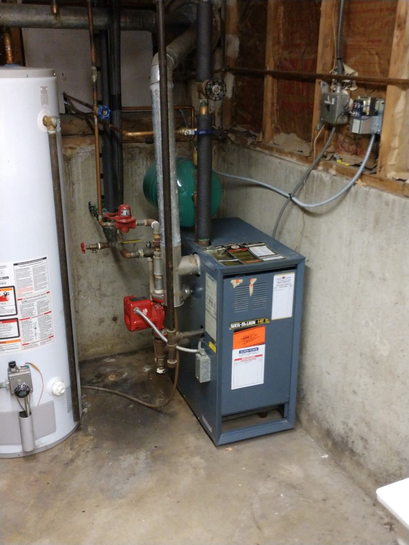 Mount Prospect, IL - We performed heating maintenance on Weil McLain boiler