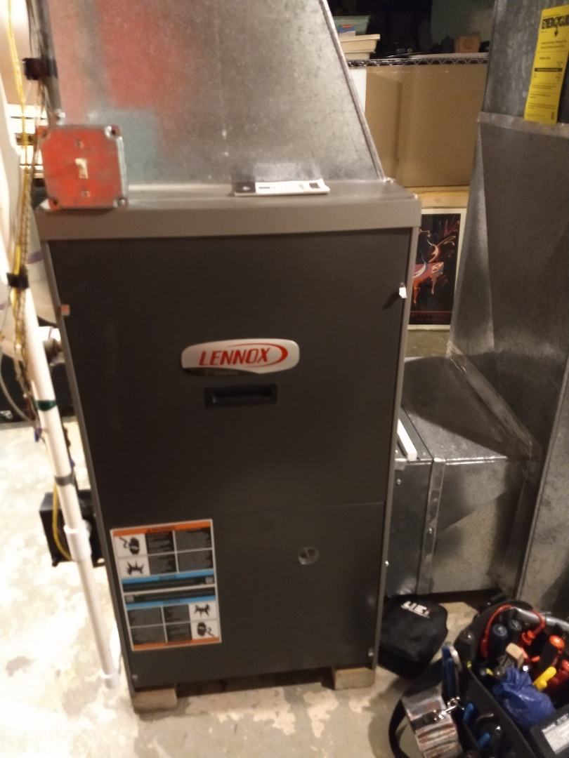 Des Plaines, IL - Lennox furnace cleaning and safety check.