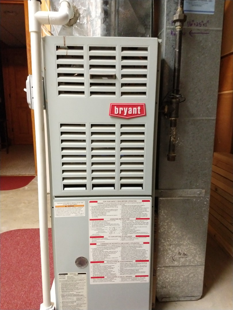 Mount Prospect, IL - Installing a Honeywell thermostat on a Bryant 80% furnace