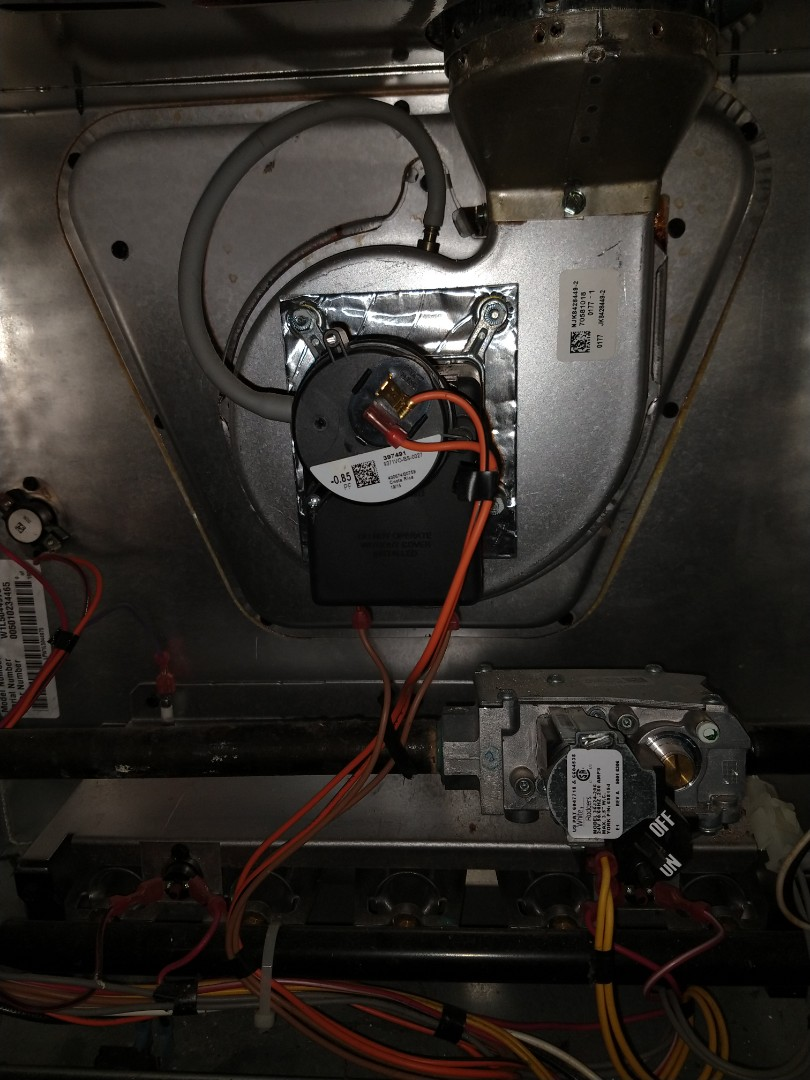 Mount Prospect, IL - No heat call, diagnosis showed a failed inducer. We replaced the bad Inducer Motor on a York 80% Gas Furnace. System is now up and running for the winter.